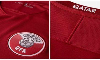 Qatar 2017 Nike Home Soccer Jersey, Football Shirt, Kit