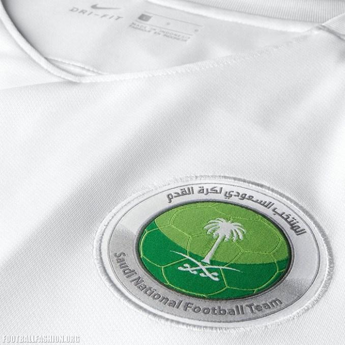 Nike presentó la nueva camiseta de Arabia Saudita para la próxima temporada