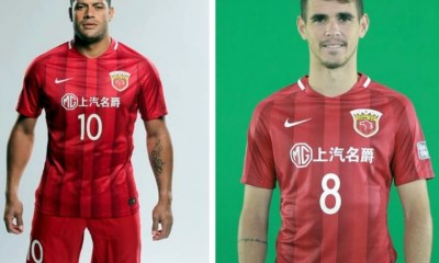 Shanghai SIPG 2017 Nike Home Football Kit, Soccer Jersey, Shirt