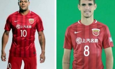 Shanghai SIPG 2017 Nike Home Football Kit, Soccer Jersey, Shirt