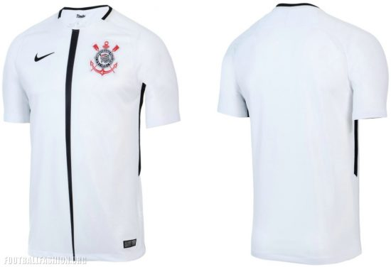 663c12986 Corinthians Paulista 2017 18 Nike Home and Away Kits - Football Fashion