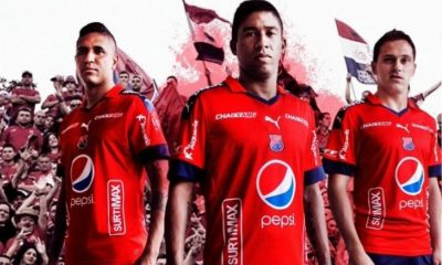 Independiente Medellín 2017 PUMA Home, Away and Third Football Kit, Soccer Jersey, Shirt, Camiseta de Futbol