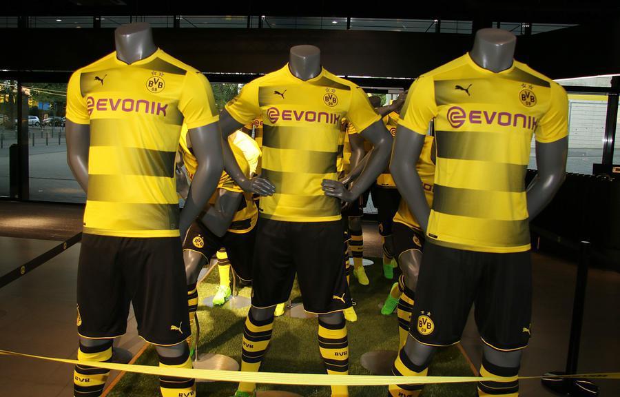 Puma Borussia Dortmund 18-19 Trikots geleakt / enthüllt ...