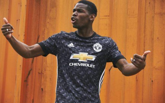 Manchester United 2017 2018 adidas Away Football Kit, Soccer Jersey, Shirt, Trikot, Camisa, Camiseta, Maillot