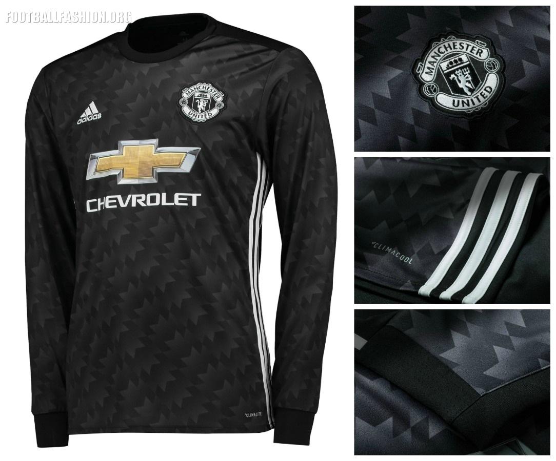 Manchester United 2017/18 adidas Away Kit - FOOTBALL FASHION.ORG