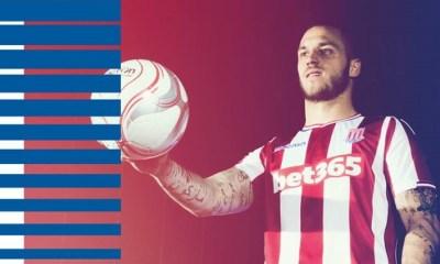 Stoke City FC 2017 2018 Macron Home and Away Football Kit, Soccer Jersey, Shirt