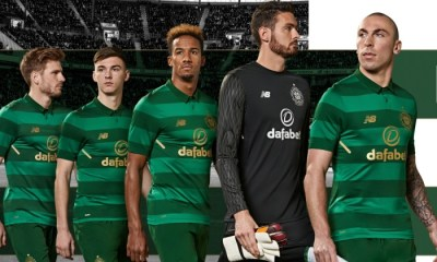 e663b26f5 Celtic FC 2017 2018 New Balance Away Football Kit