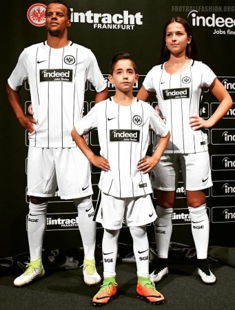 Eintracht Frankfurt 2017 18 Nike Home Kit Football