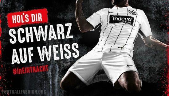 Eintracht Frankfurt 2017 2018 Nike Home Football Kit, Soccer Jersey, Shirt, Trikot, Heimtrikot