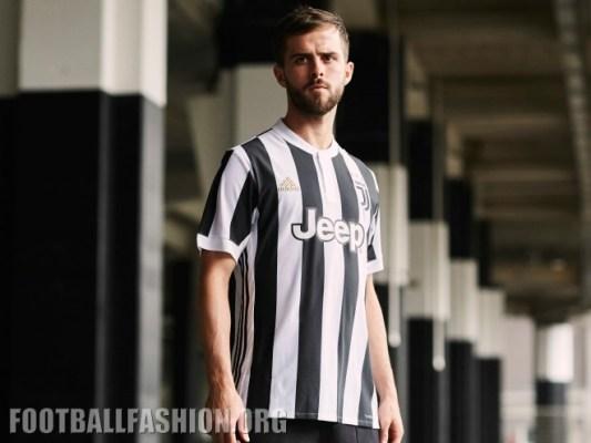 Juventus 2017 2018 adidas Home Football Kit, Soccer Jersey, Shirt, Camiseta, Camisa, Maglia, Gara, Trikot, Maillot, Tenue