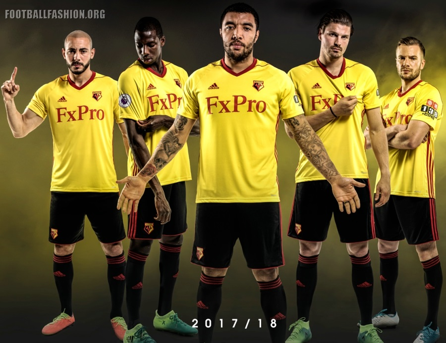 9cabf14453b8 The Hornet have unveiled their home kit for their next English Premier  League