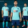 AFC Bournemouth 2017 2018 Umbro Away Football Kit, Soccer Jersey, Shirt, Camiseta, Maillot