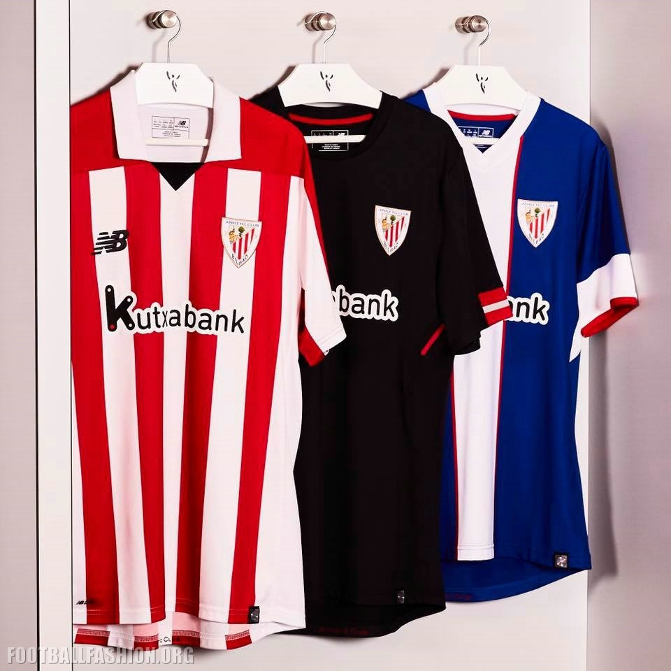Athletic Club de Bilbao 2017/18 New Balance Kits ...