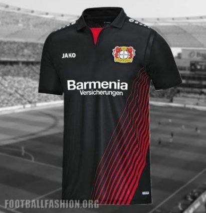 Bayer 04 Leverkusen 2017 2018 Jako Home Football Kit, Soccer Jersey, Shirt, Camiseta, Trikot, Heimtrikot