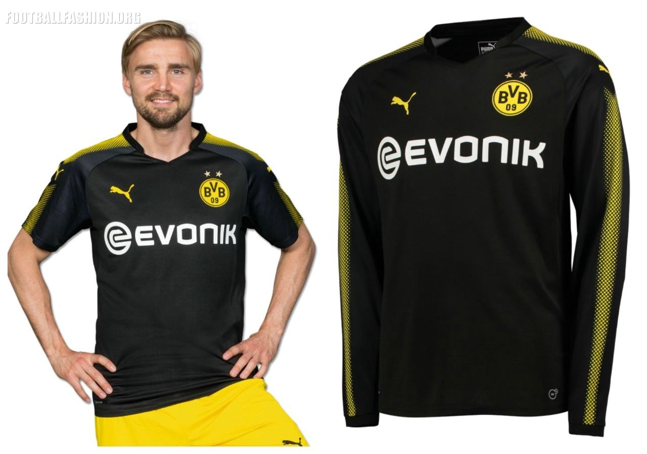 Borussia Dortmund 2017 18 PUMA Away Kit – FOOTBALL FASHION.ORG e196f6130