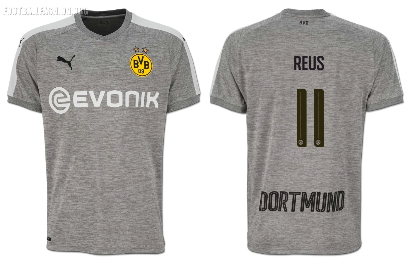 wholesale dealer 46cc7 6a744 Borussia Dortmund 2017/18 PUMA Third Kit - FOOTBALL FASHION.ORG