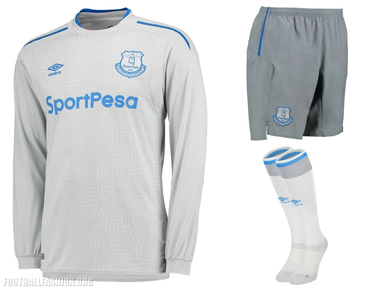 timeless design 8d7e7 6d0d8 Everton FC 2017/18 Umbro Away Kit - FOOTBALL FASHION.ORG
