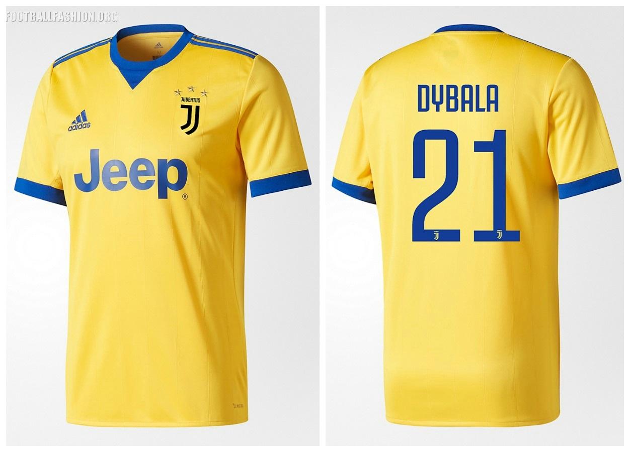hot sales a6acc df9ac Juventus FC 2017/18 adidas Away Kit - FOOTBALL FASHION.ORG
