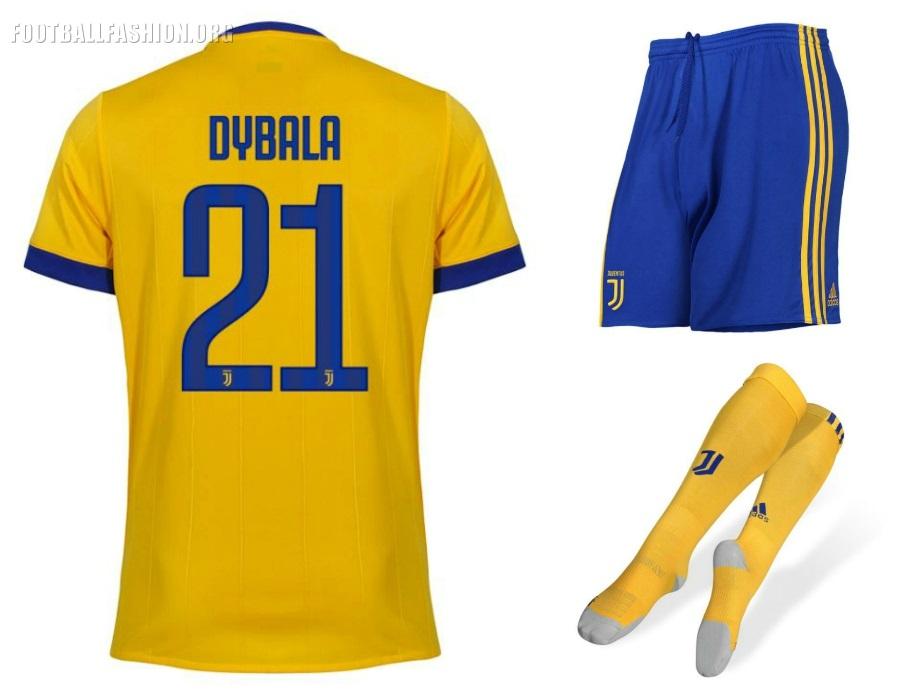 detailed look da2d7 6e9ea Juventus Yellow Away Jersey
