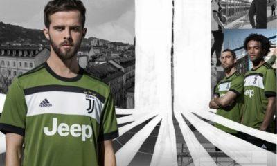 Juventus 2017 2018 adidas Green Third Football Kit, Soccer Jersey, Shirt, Camiseta, Camisa, Maglia, Gara, Trikot, Maillot, Tenue