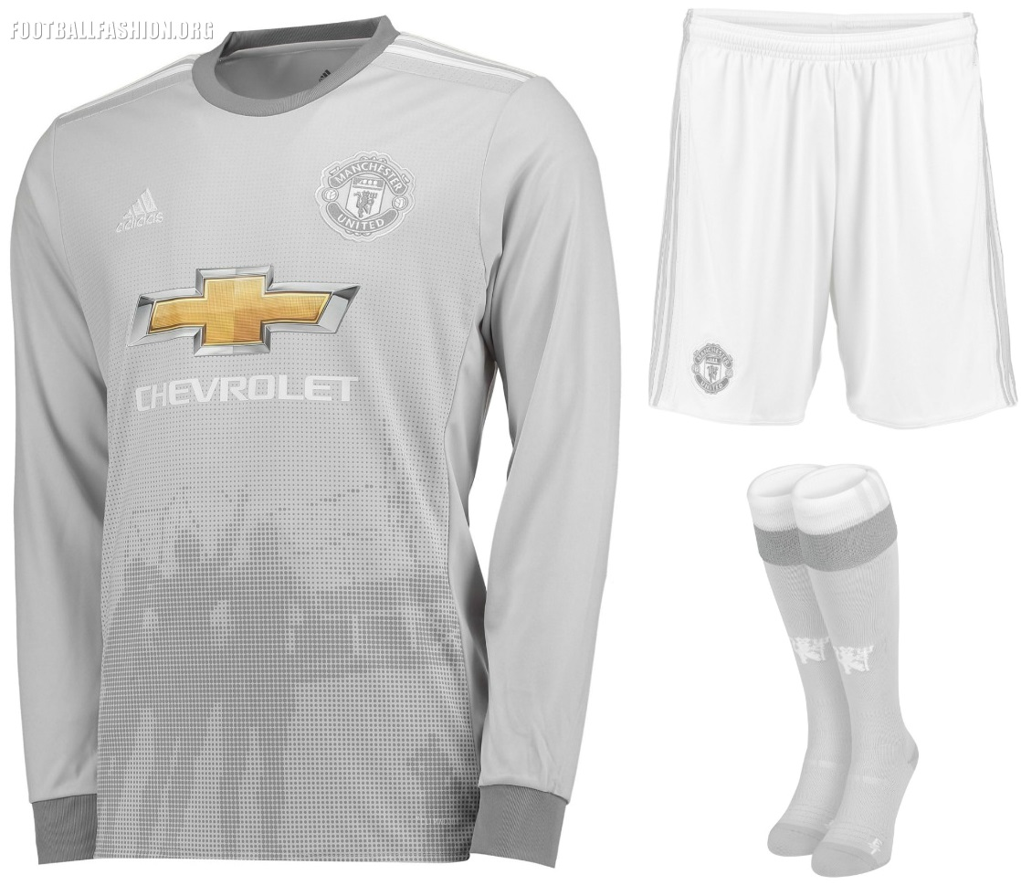 new style 5c03c af05b Manchester United 2017/18 adidas Third Kit - FOOTBALL ...