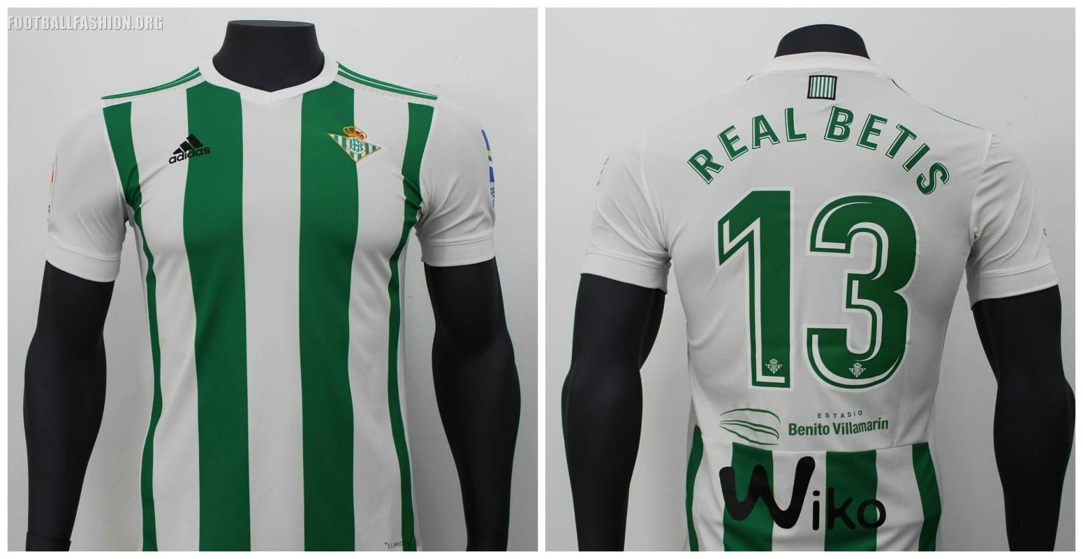 Real Betis 2017/18 adidas Home and Away Kits - FOOTBALL FASHION
