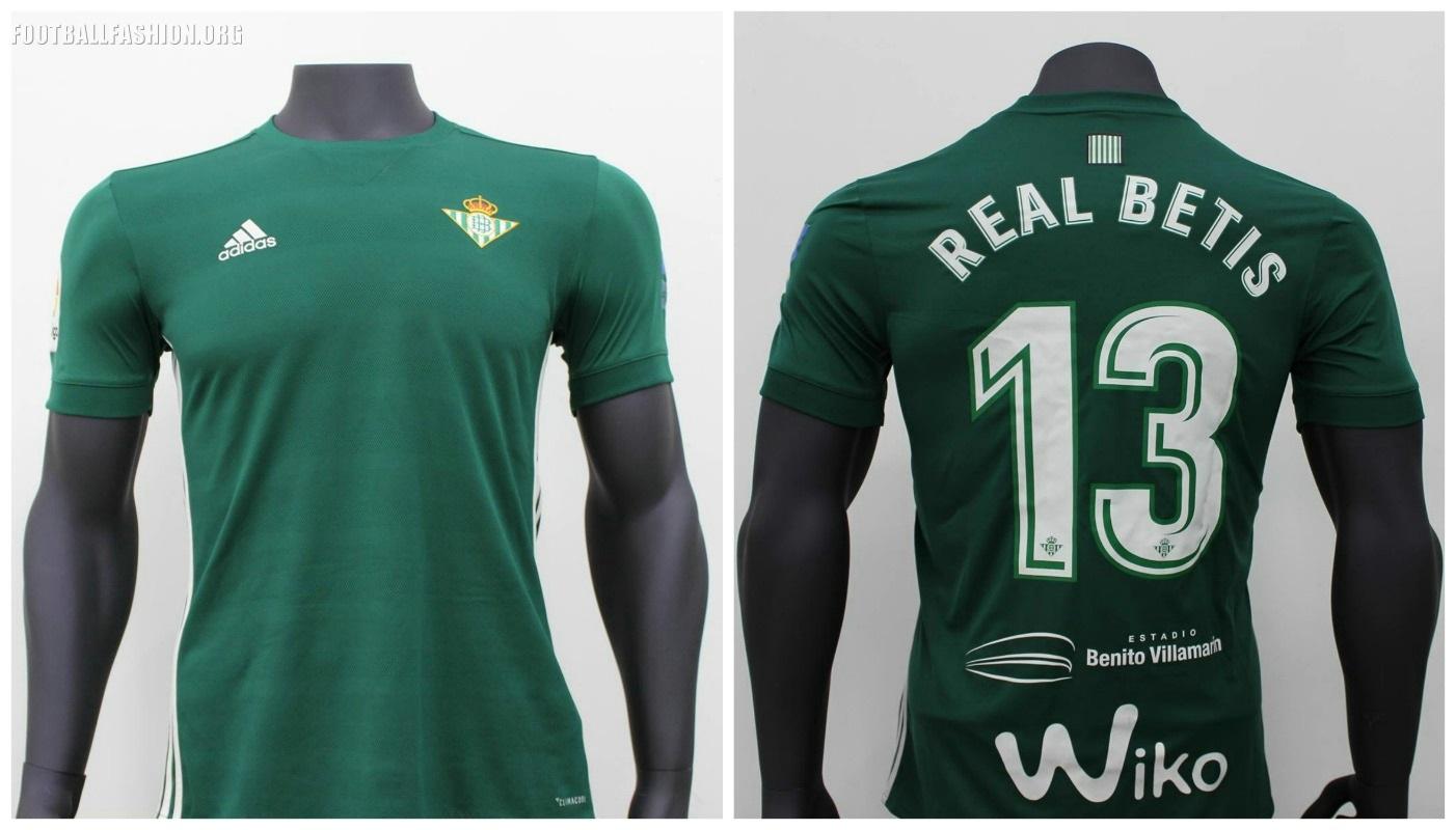 desencadenar monitor Roble  Real Betis 2017/18 adidas Home and Away Kits - FOOTBALL FASHION