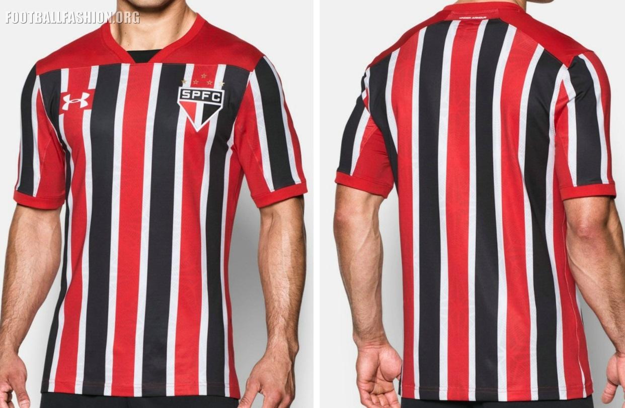 103e9d73a6 São Paulo FC 2017 Under Armour Away Kit - Football Fashion