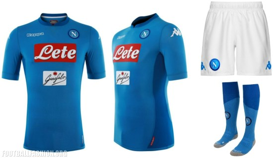 SSC Napoli 2017 2018 Kappa Home Football Kit, Shirt, Soccer Jersey, Gara, Maglia, Camiseta, Camisa, Maillot, Trikot, Tenue
