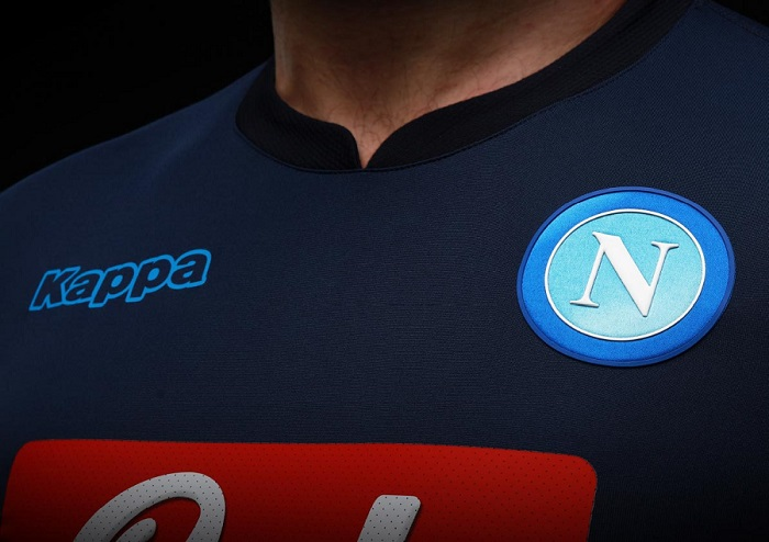 Maglia Calcio Third Football Shirt Napoli 2017//2018 Kappa Tg L Gara Player Issue