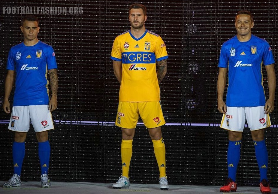 Tigres UANL 2017 18 adidas Home and Away Jerseys – FOOTBALL FASHION.ORG 0f59fd5d7