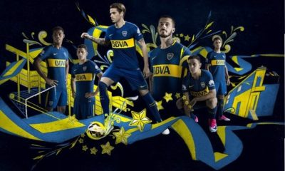 Boca Juniors 2017 2018 Nike Home and Away Football Kit, Soccer Jersey, Shirt, Equipacion, Camiseta