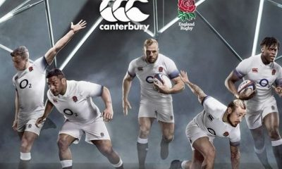 England Rugby 2017 2018 Canterbury Home Kit, Jersey, Shirt