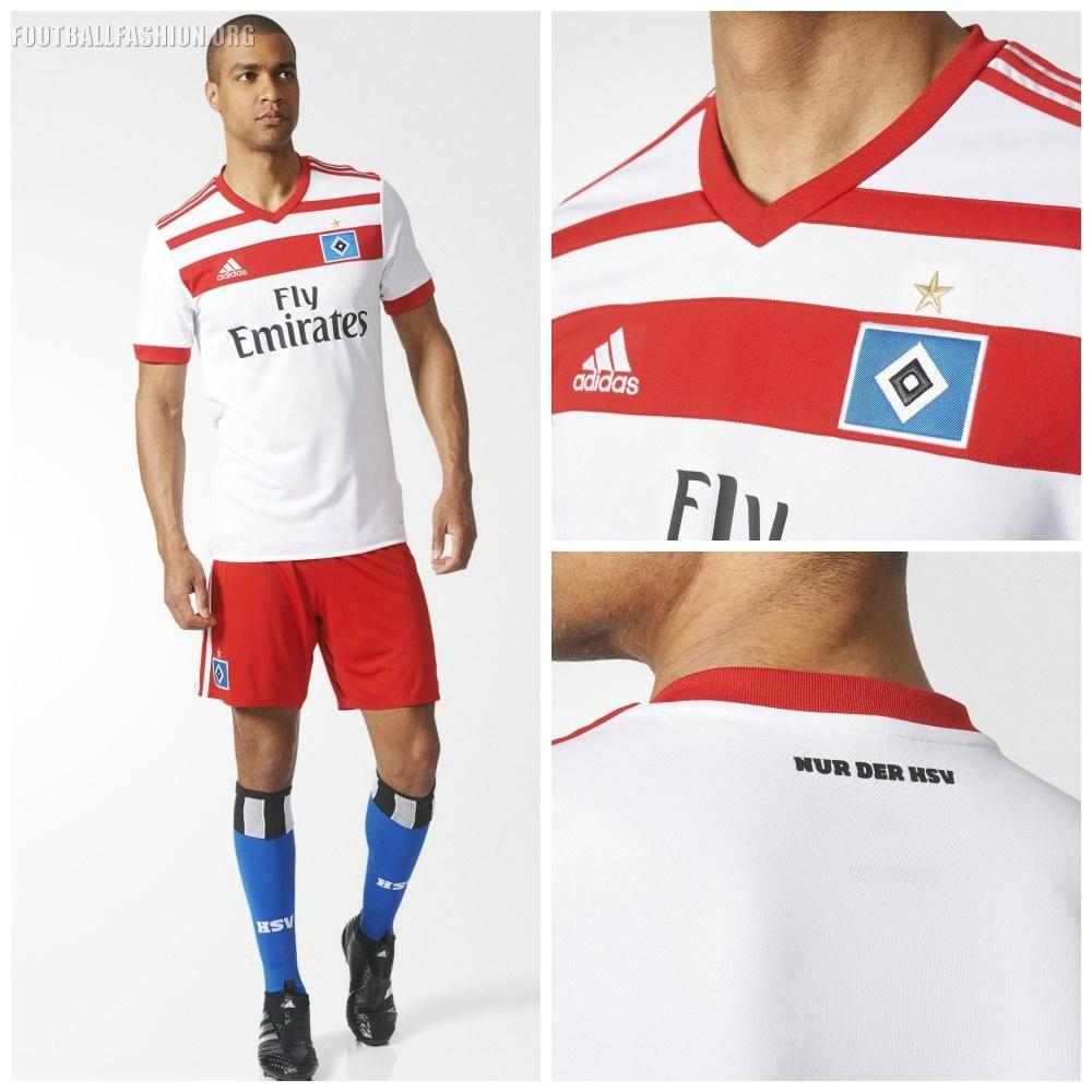 Hamburger SV 2017/18 adidas Home and Away Kits - FOOTBALL