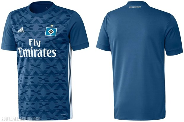 Hamburger SV 2017 2018 adidas Home and Away Football Kit, Shirt, Soccer Jersey, Trikot, Heimtrikot, Auswärtstrikot