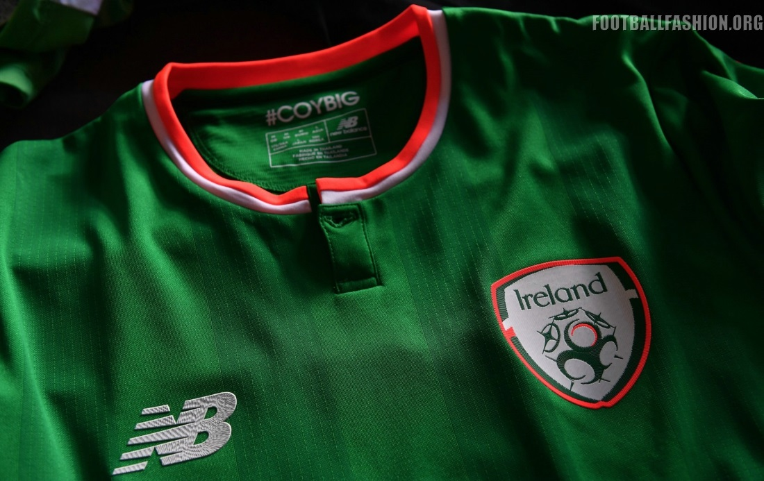 06c9681d698 Republic of Ireland 2017 18 New Balance Home Kit - FOOTBALL FASHION.ORG