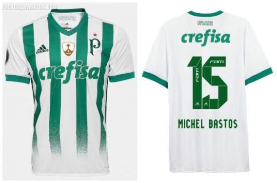 Palmeiras 2017 2018 adidas Away and Third Football Kit, Soccer Jersey, Shirt, Camisa do Futebol, Camiseta