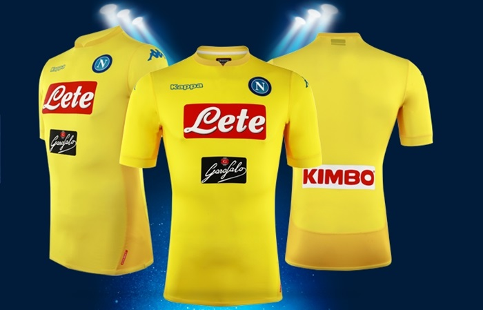 Ssc Napoli 2017 18 Kappa Away Kit Football Fashion Org