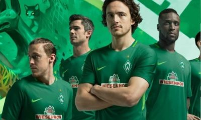 Werder Bremen 2017 2018 Nike Home, Away and Third Football Kit, Soccer Jersey, Shirt, Trikot