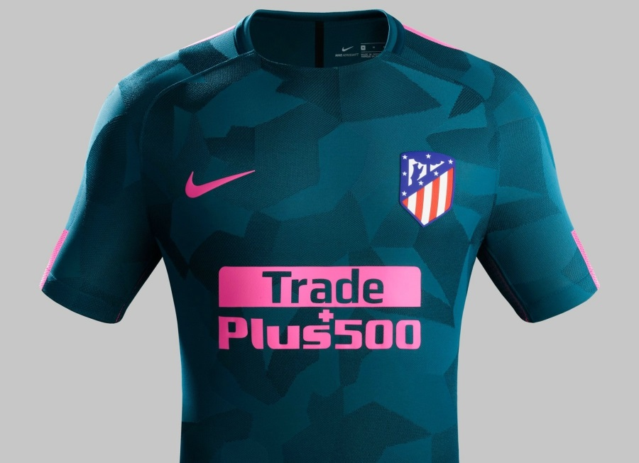 8e51771431349 Atlético Madrid 2017 18 Nike Third Kit - FOOTBALL FASHION.ORG