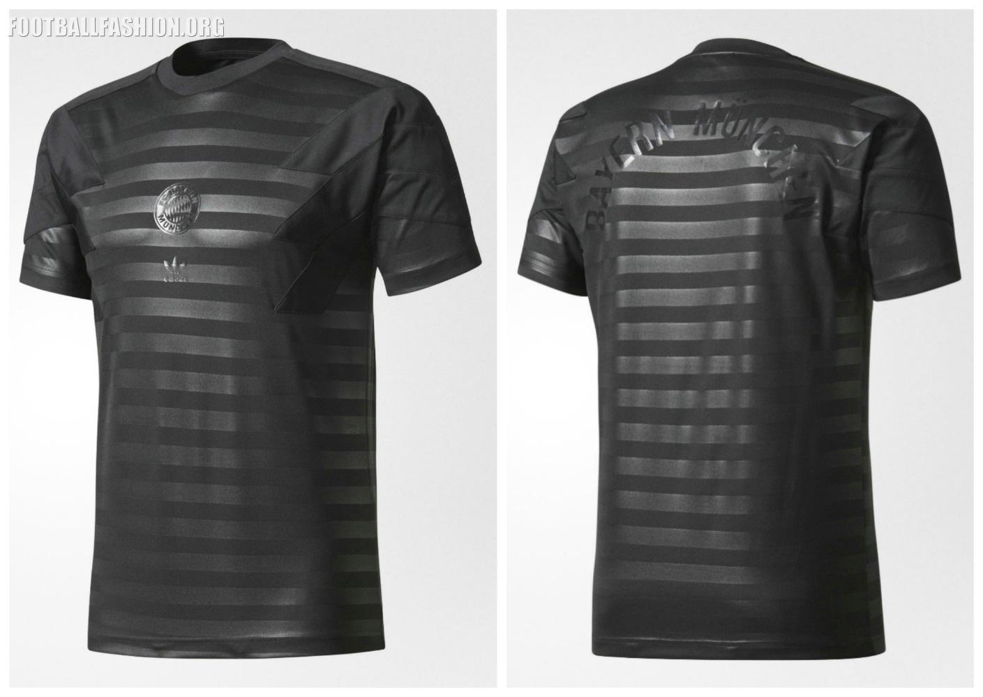 bayern m nchen 2017 18 adidas originals retro kits football fashion org. Black Bedroom Furniture Sets. Home Design Ideas