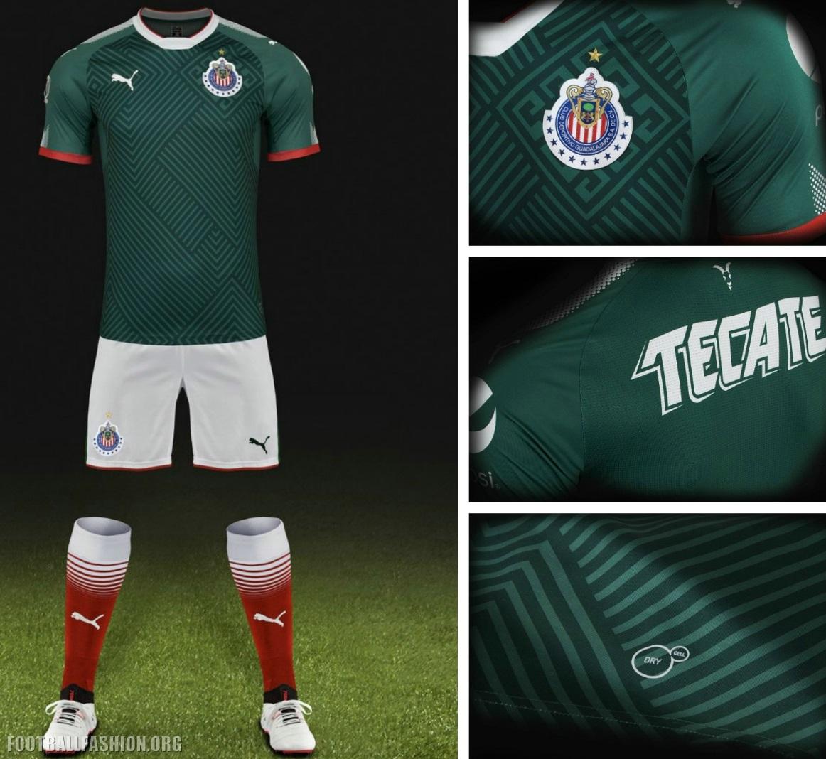 f8dd964e9 Chivas de Guadalajara 2017 18 PUMA Third Jersey - FOOTBALL FASHION.ORG