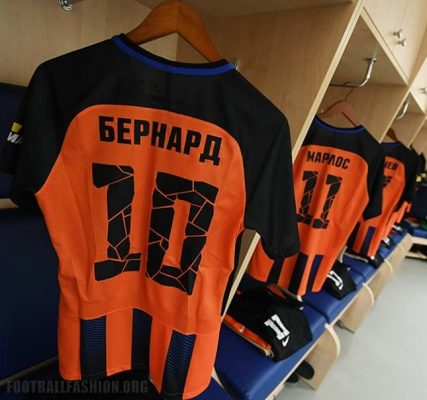 FC Shakhtar Donetsk 2017 2018 Nike Home and Away Football Kit, Soccer Jersey, Shirt, Camisa