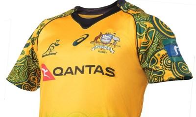 Australia 2017 2018 Asics Indigenous Rugby Kit, Jersey, Shirt