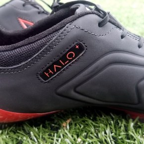 Up-Close: Concave Halo + Soccer Boot in Midnight Rage