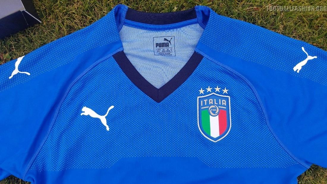 Unboxed up close italy 2018 puma home kit football for Italian kit