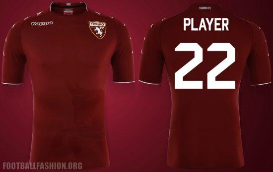 Torino FC 2017 2018 Kappa Home, Away and Third Football Kit, Soccer Jersey, Shirt, Gara, Maglia