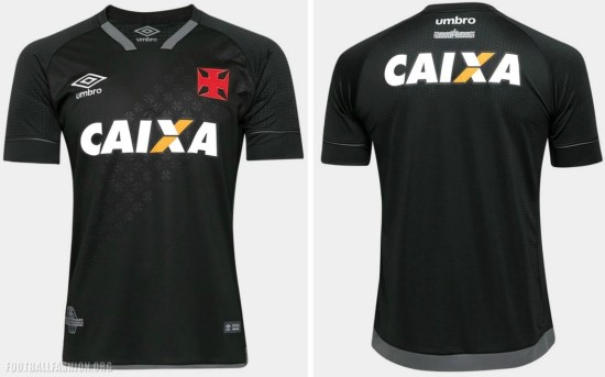 CR Vasco da Gama 2017 2018 Umbro Third Football Kit, Soccer Jersey, Shirt, Camisa III