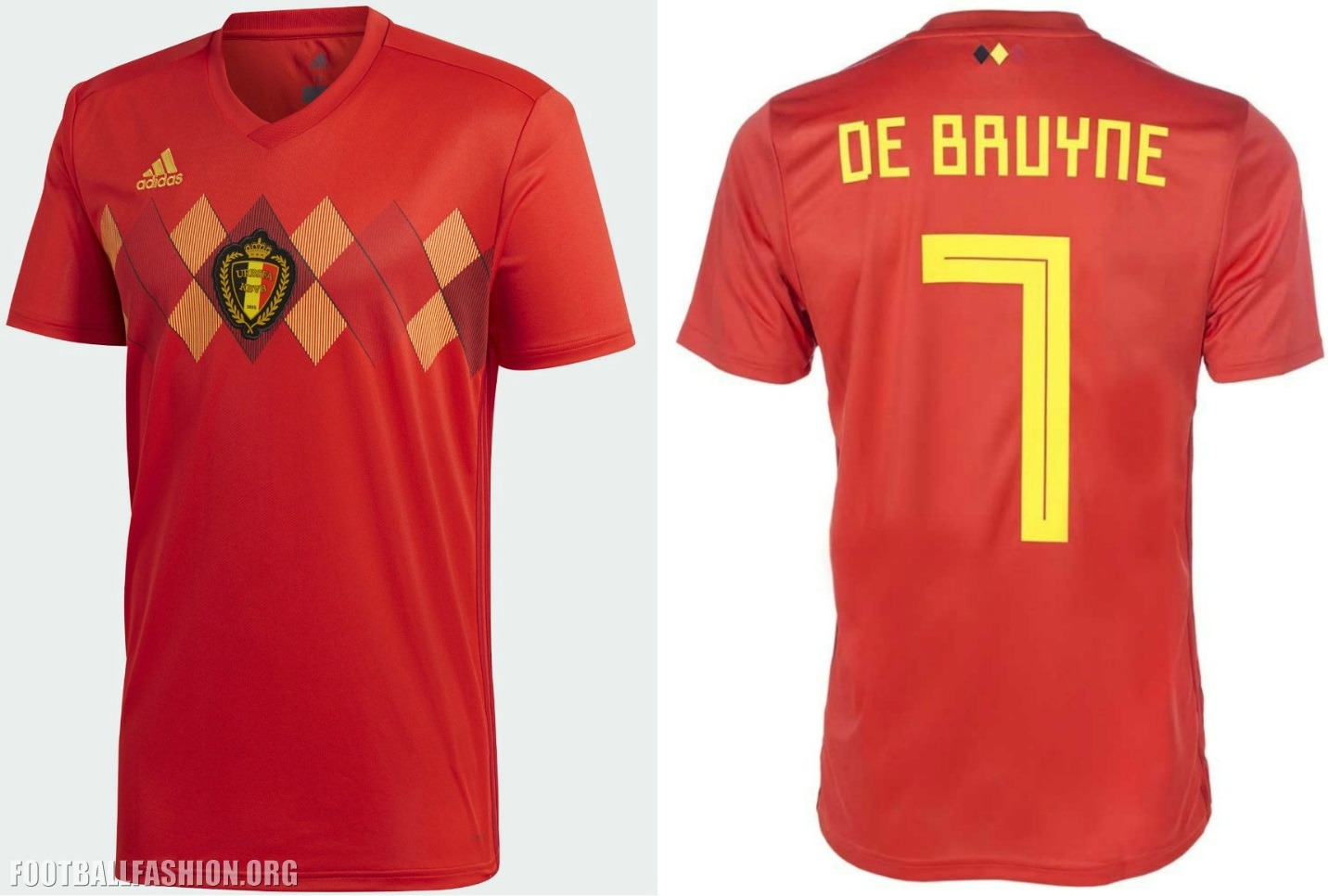 c3aeb23fa59 Belgium 2018 World Cup adidas Home Football Kit, Soccer Jersey, Shirt,  Maillot,