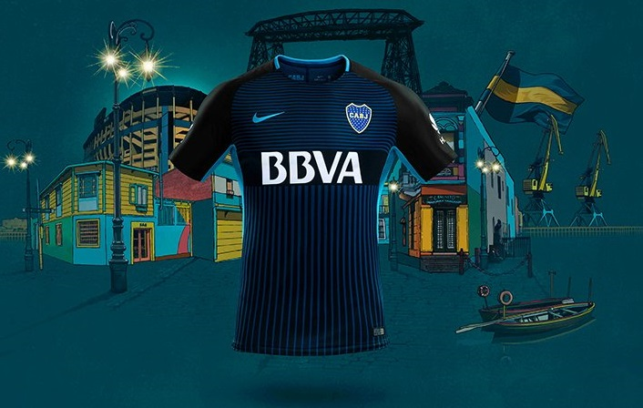 5c854d9b7 Boca Juniors 2017 18 Nike Third Kit - FOOTBALL FASHION.ORG